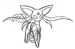 Mega Espeon X  You may have seen a similar-looking mega espeon out there on the web somewhere. If you think you did, that's probably because you did....