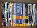 All of my video game strategy guides    From left to right:  New Super Mario Bros. (Nintendo)  Donkey Kong 64 (Prima)  Super Mario Advance 4: Super...