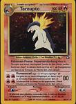 A German Tornupto (Typhlosion) card