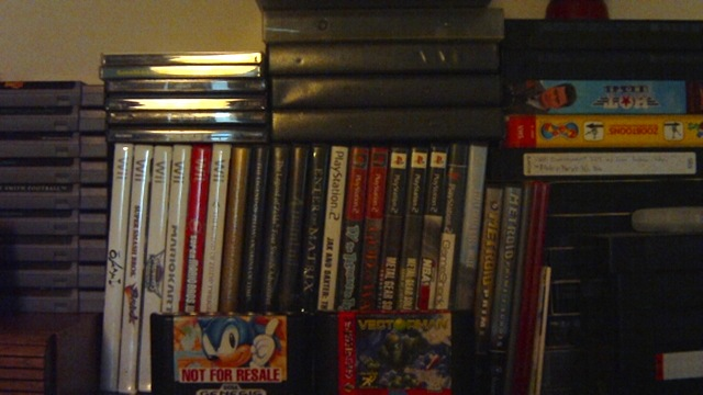 PS1 collection (on top of the PS2, GameCube, and Wii games)