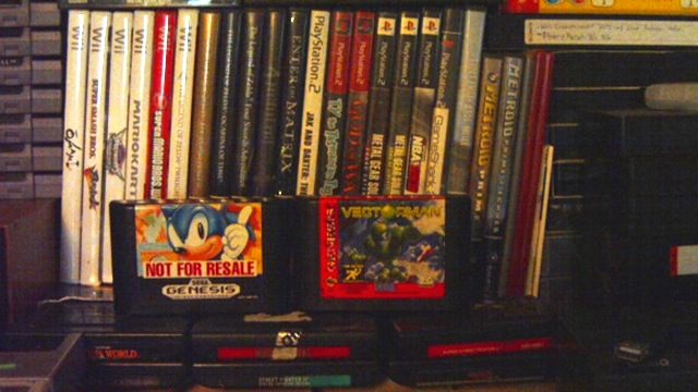 Genesis, Wii, GameCube, and PS2 collection
