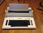 Panasonic T325 electronic typewriter (1987).    I received this from a client who no longer needed it (he had upgraded to a newer typewriter), and...