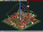 This is a decently optimized Micro Park (with an area of 18,260 sq. ft.). There are three layers of rides here, including two roller coasters. Rides...